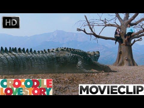 Crocodile Lovestory | Malayalam Movie 2013 | Crocodile Attacking Video