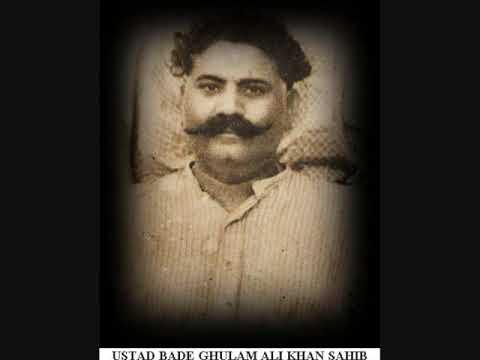 Ustad Bade Ghulam Ali Khan  Pilo Thumri Rare Live