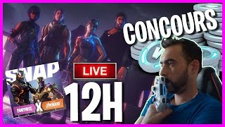 LIVE 12H PS4 FORTNITE BATTLE ROYAL + 3 CARTES PSN CONCOURS VBUCKS