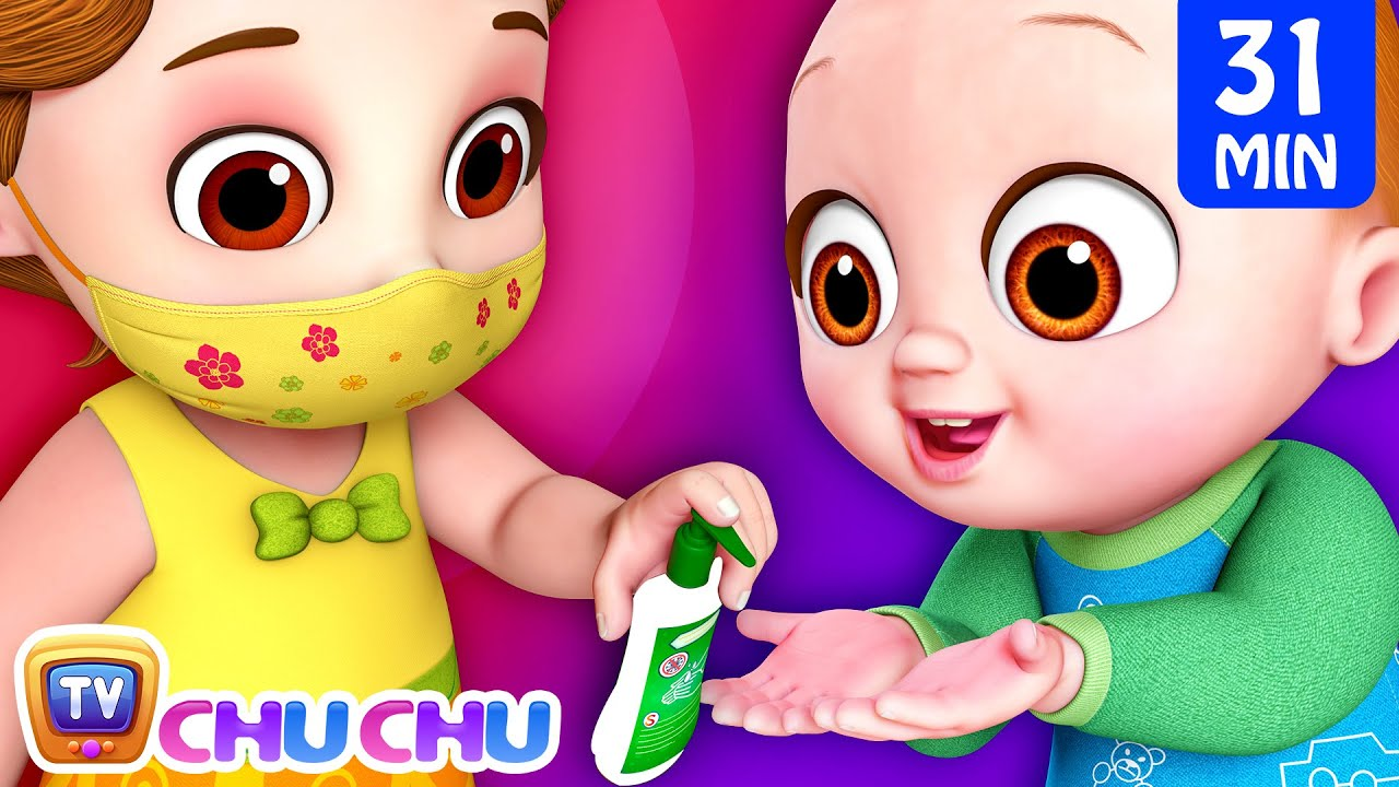 Download Yes Yes Stay Safe Song (Healthy Habits) + More ChuChu TV Baby Nursery Rhymes & Kids Songs