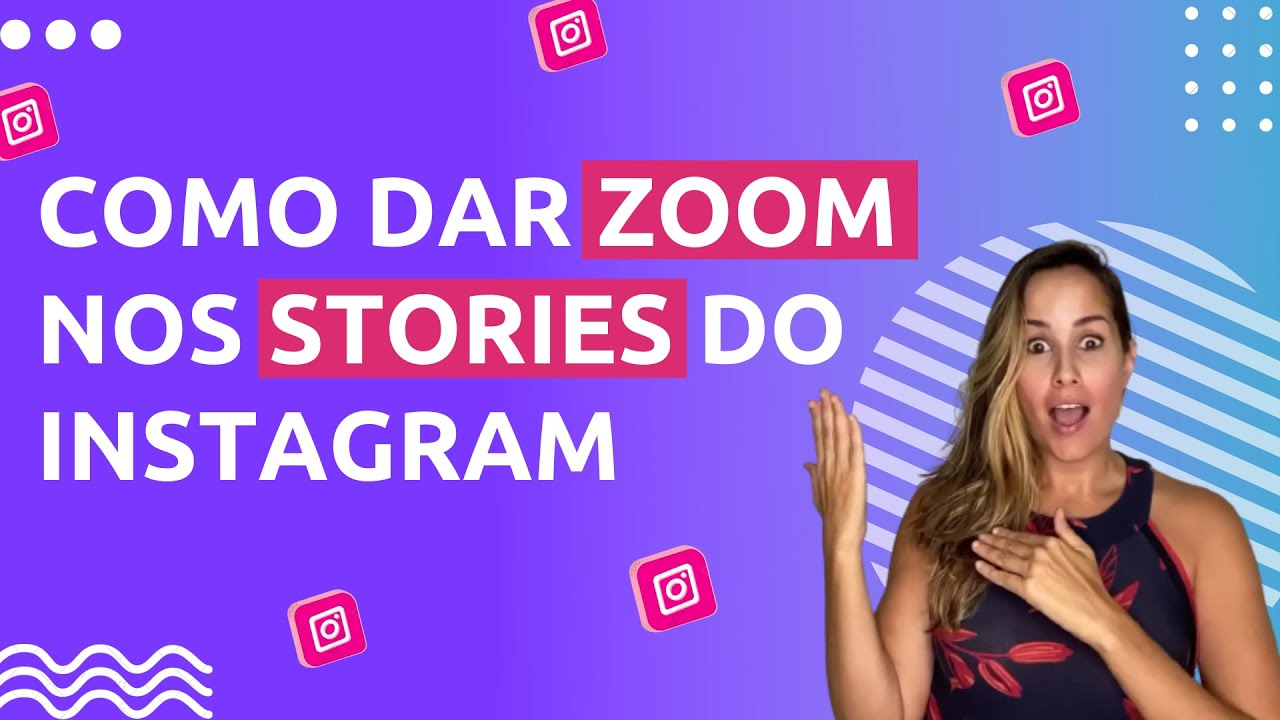Como dar zoom nos stories do instagram por ana tex youtube como dar zoom nos stories do instagram por ana tex ccuart Image collections