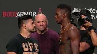 UFC 236: Weigh-in Faceoffs