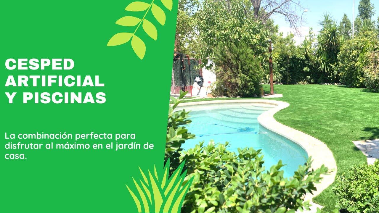 Cesped artificial piscinas youtube - Cesped artificial piscina ...