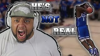 Zion Williamson Highlights #4 Duke vs #2 Kentucky | HE CAN'T BE REAL! UNC FAN'S REACTION!