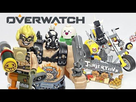 LEGO Overwatch Junkrat & Roadhog review! 2019 set 75977!