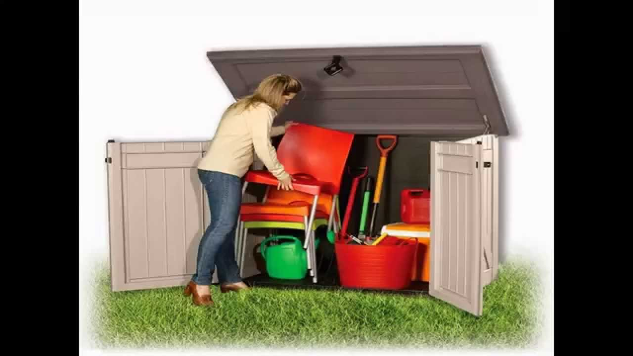 & Buy Garden Storage Box - All Purpose Garden Storage Unit - YouTube