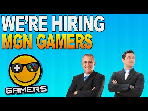 MGN Gamers Is Looking For Staff! : Get a job at MGN Gamers - And More!