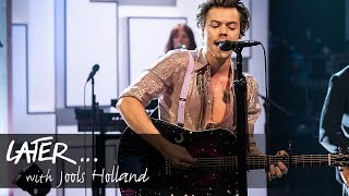 Download Lagu Harry Styles - Watermelon Sugar Later With Jools Holland MP3