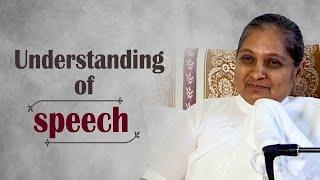 Understanding of Speech