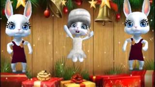 ZOOBE зайка  Поздравление С Новым Годом друзьям ! песня