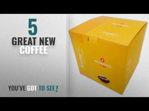 Top 10 Manuel Caffe Coffee [2018]: 50 Packs Nespresso Compatible Capsules. Roasted Italian Premium