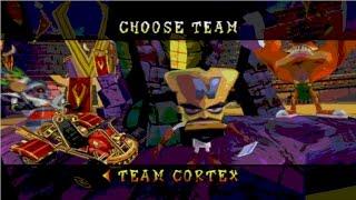 Crash Nitro Kart PS2 Playthrough / Walkthrough Gameplay