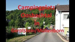 Campingplatz Oosbachtal in Gerolstein / Müllenborn