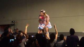 parte del concierto de lady bear en animex 2017.