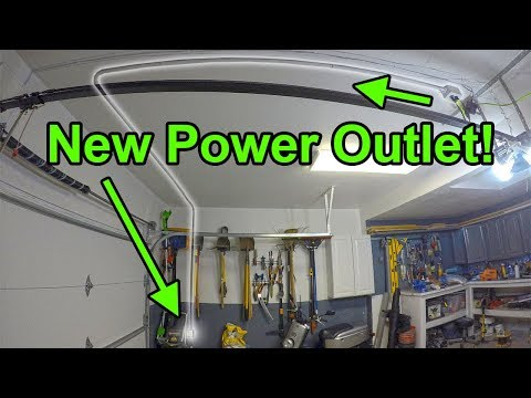How to Add An Electrical Outlet in a Garage