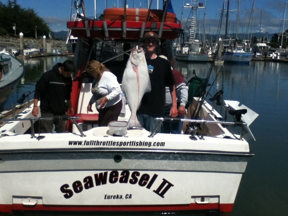 Pacific halibut fishing in eureka ca june 2013 youtube for One day fishing license ca