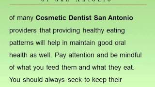 Importance of Teaching Your Child Good Cosmetic Dentist San Antonio Oral Habits Thumbnail