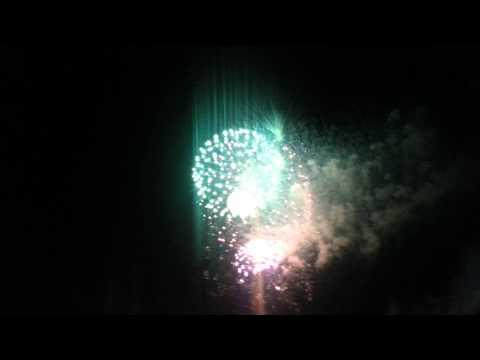 Medina fireworks July 3rd 2014 grand finale