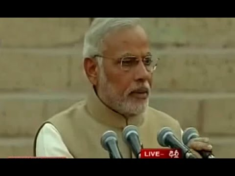 Narendra Modi's Swearing-in Ceremony Live