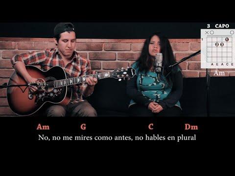 Shakira Feat. Gustavo Cerati - No COVER | Tutorial Acordes (HD)