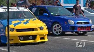 ВАЗ 2108 Турбо vs Subaru Impreza 1000 л.с.