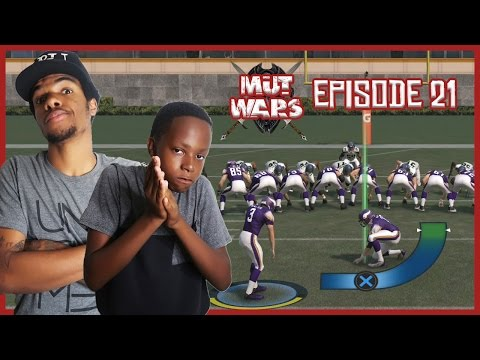 FIELD GOAL CHALLENGE BUNDLE WAGER!! - MUT Wars Ep.21 | Madden 17 Ultimate Team