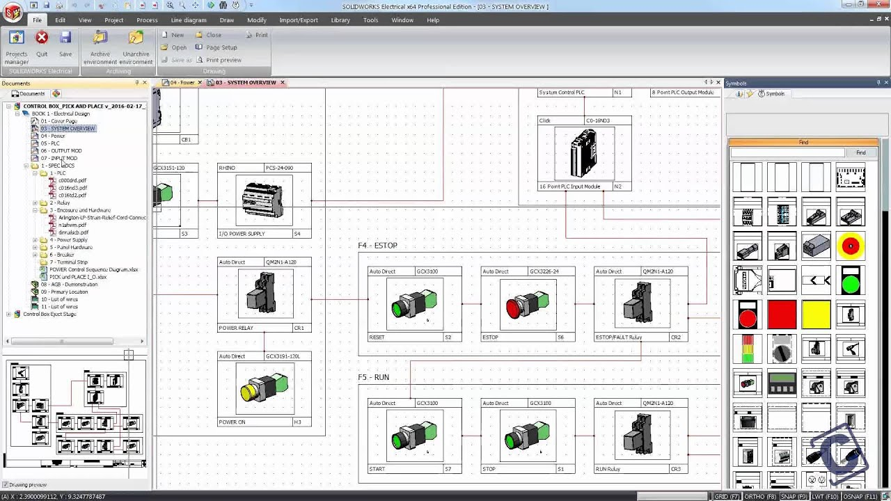 SOLIDWORKS Electrical 2016 Project Macros - YouTube