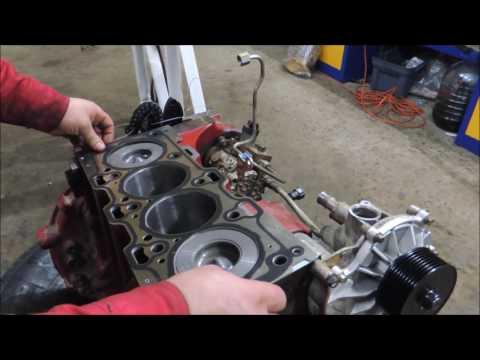 Ремонт двигателя Газель бизнес Cummins Isf 2.8 день второй.