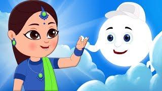 Chanda Mama Pyare Chanda Mama | Hindi Rhymes for Childrens | Kids Tv India | Hindi Nursery Rhymes