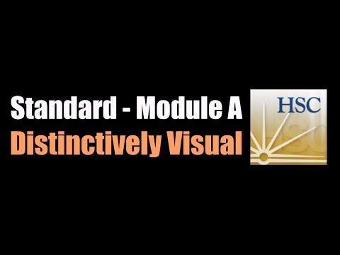 Standard English Module A - Experience Through Language - Distinctively Visual
