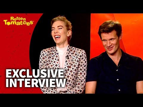 Matt Smith and Vanessa Kirby on TV Binging 2017  Rotten Tomatoes
