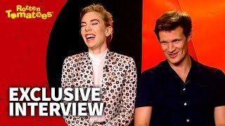 Matt Smith and Vanessa Kirby on TV Binging (2017) | Rotten Tomatoes