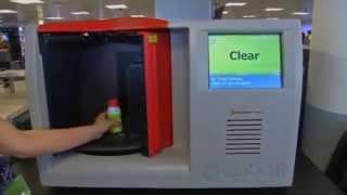 В аэропортах начали тестировать лазерный сканер, определяющий состав жидкости в ручной клади(Запрет на провоз жидкостей в самолётах может быть полностью отменён к 2016 году — к этому моменту будут завер..., 2014-05-22T10:49:15.000Z)