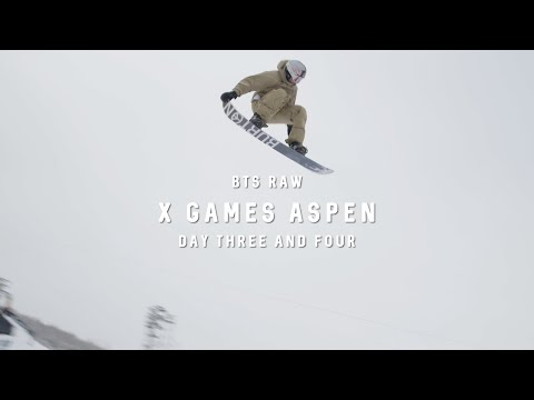X Games (Day 3 And 4) - BTS RAW - Mark McMorris