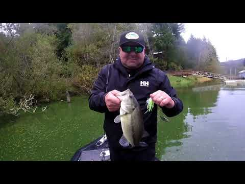 Bass Fishing Tenmile Lakes- Lakeside Oregon