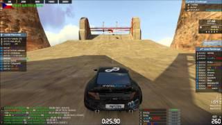 TrackMania 2 Canyon Gameplay