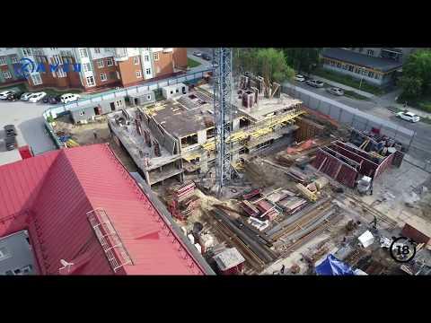 Отчет о ходе строительства за май ЖК Оникс