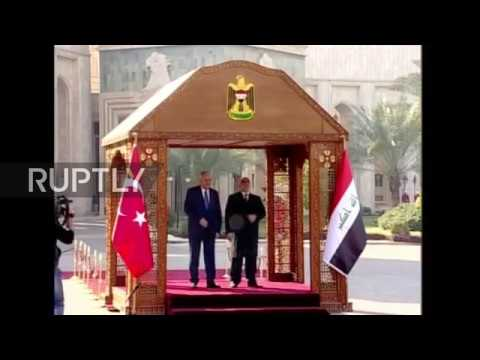 Iraq: Turkish PM meets Iraqi leader al-Abadi in Baghdad amid Bashiqa dispute