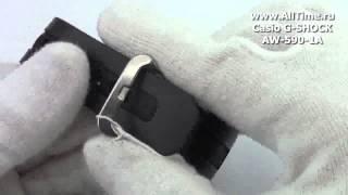 обзор мужские наручные японские часы casio g shock aw 590 1a