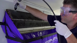 ECO Cleaning - Split Systems - Plum Heating and Cooling Melbourne