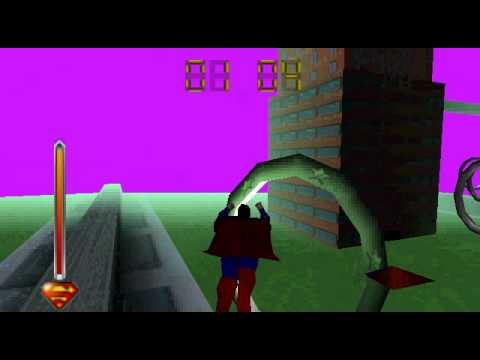 Superman 64 Gameplay