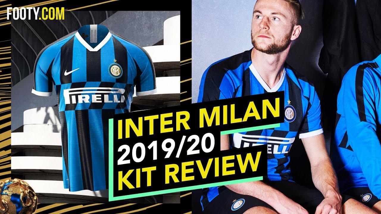 Inter Milan 2019 20 Nike Home Shirt Kit Review Youtube
