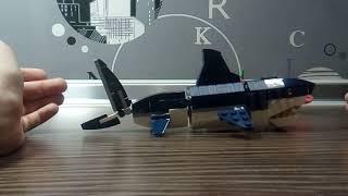Обзор набора Лего creator 31088 морские обитатели