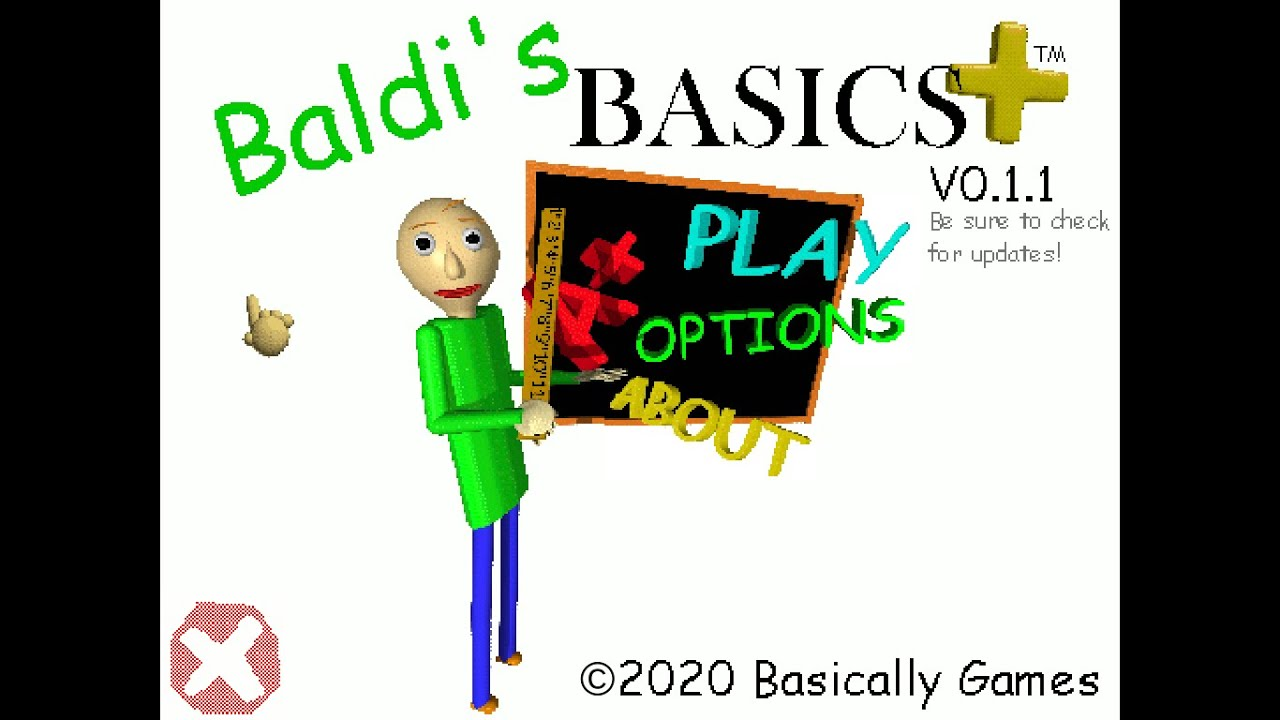 Baldi's Basics Plus Full Gameplay v0.1.1