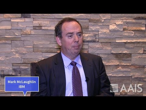 Mark McLaughlin, Global Insurance Director, IBM