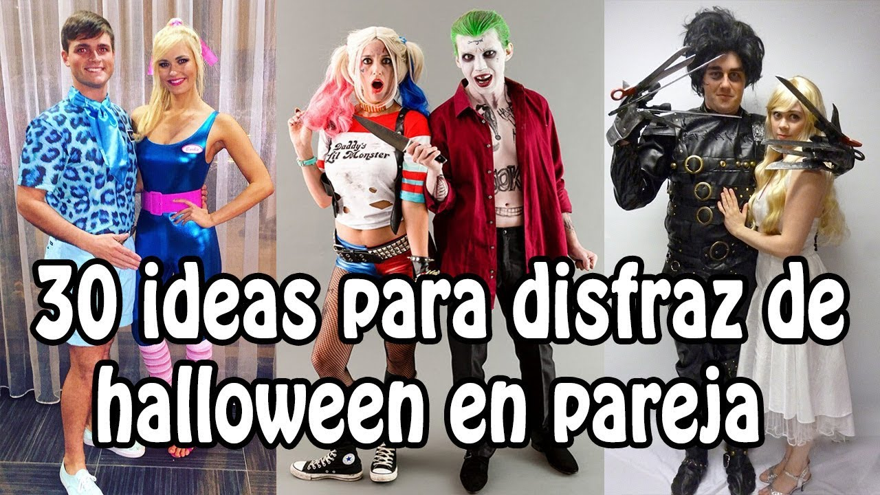 30 Ideas para Disfraz de Halloween en Pareja - YouTube