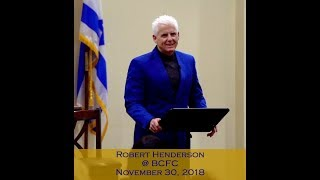Robert Henderson - The Courts of Heaven - November 30, 2018