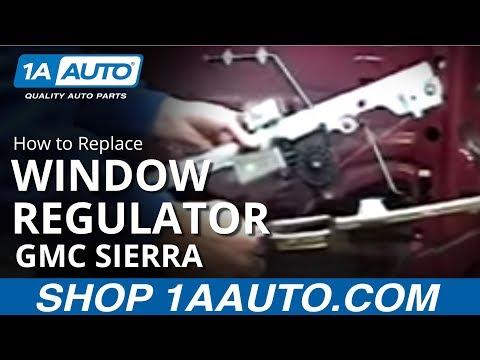 How to install replace power window regulator chevy for 2000 silverado power window regulator