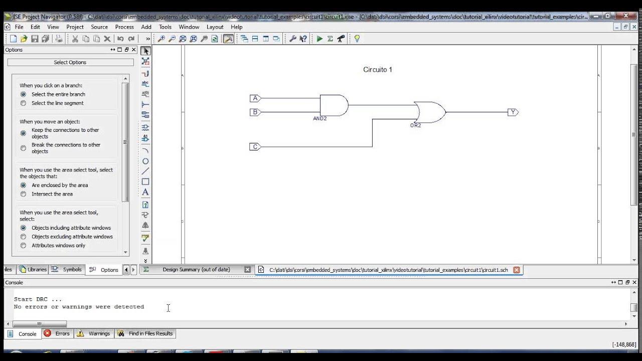 tutorial 1 schematic on