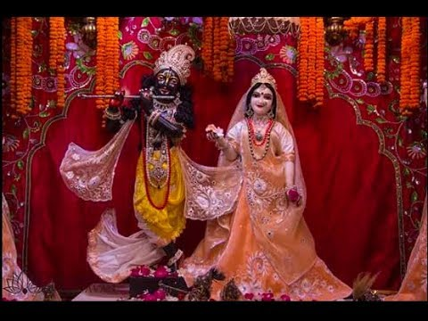 Vibhavari Sesa (iskcon morning aarti) || HG Swarupa Damodar Das